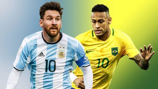 Messili Arjantin ile Neymarlı Brezilya 9 Haziran günü Avustralya'da dostluk maçına çıkıyor.