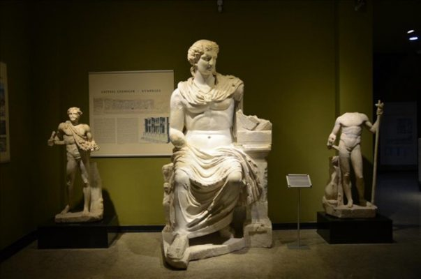 Sagalassos Antik Kentinden Çıkan Kalıntılar