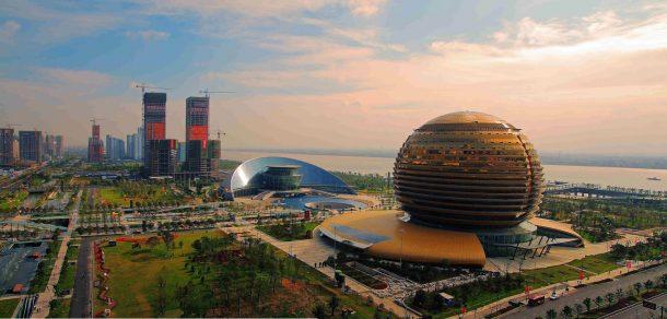 zhejiang sehri hangzhou bolgesi cin