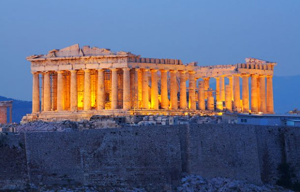 Atina Partenon Tapınağı