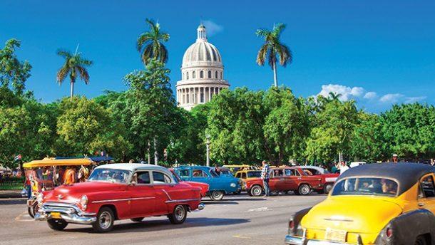 Küba Havana Amerikalı Turislerin Gözdesi