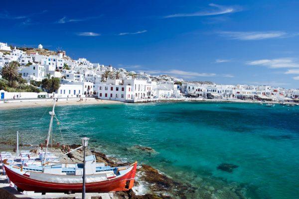 Mikonos Yunan Adası