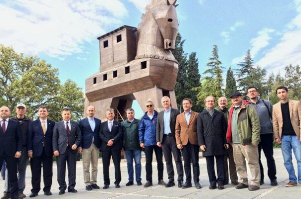 Turizm Yazarlarından 2018 Troia Yılına Destek