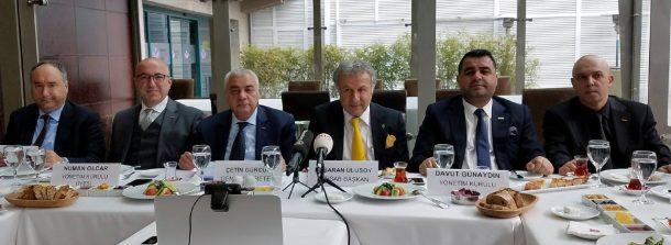 TÜRSAB Basın Tolantısı Lütfi Kırdar Borsa Restoran