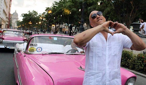 Vin Diesel: Küba'nın Bendeki Yeri Ayrı