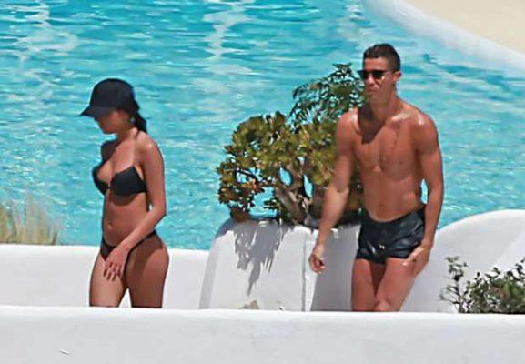 Cristiano Ronaldo İbiza