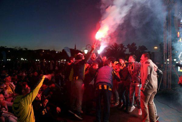 Fenerbahçe Şampiyonluk Kutlamaları