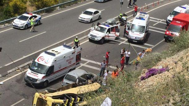 Muğla Marmaris Trafik Kazası