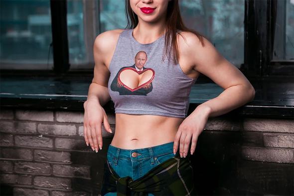 Rusya'da Putin Modası