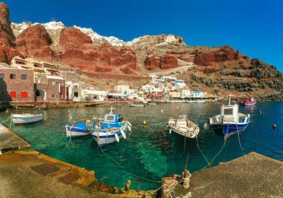 Santorini Amudi Koyu