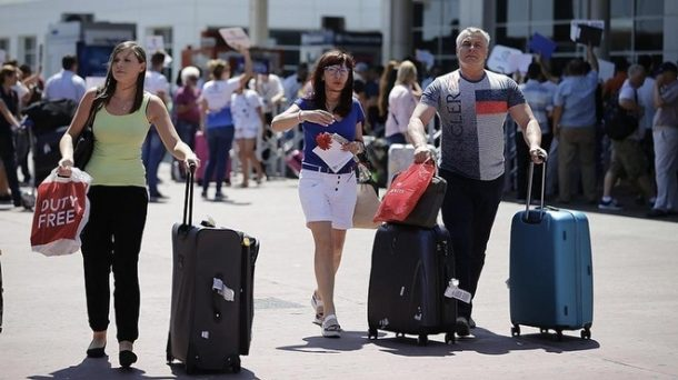 Antalya Gelen Turistler