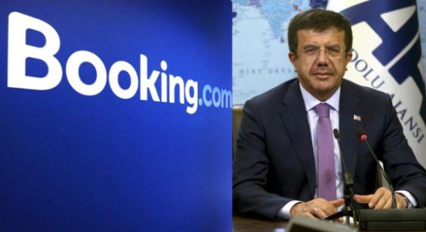 Bakan Zeybekçi - Booking.com Görüşmesi