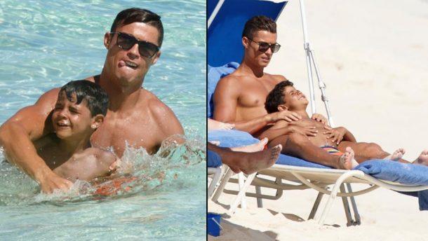 Cristiano Ronaldo ve Oğlu