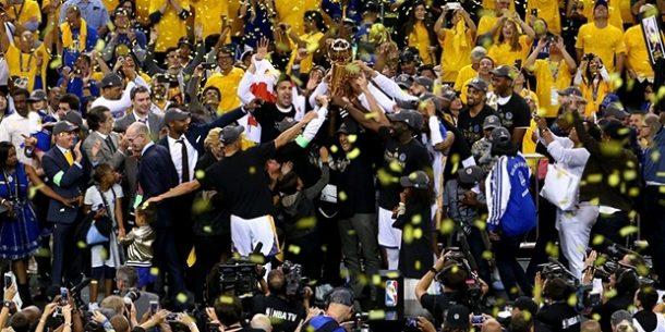 NBA Şampiyonu Golden State Warriors
