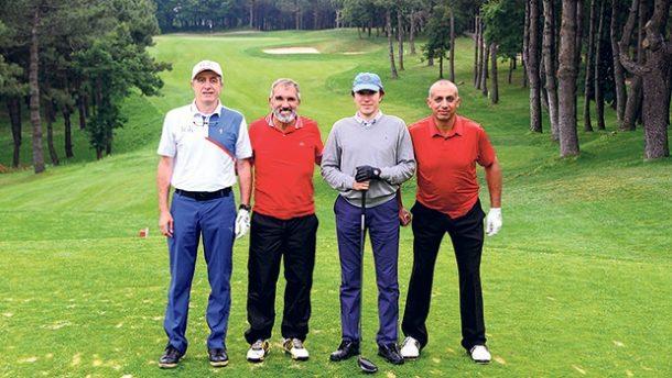 Golf tutkunları Kemer Country Club'ta buluştu