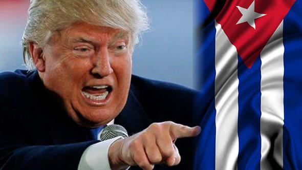 Donald Trump Küba ve ABD
