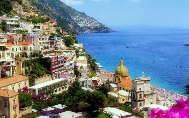 Positano Plaj İtalya