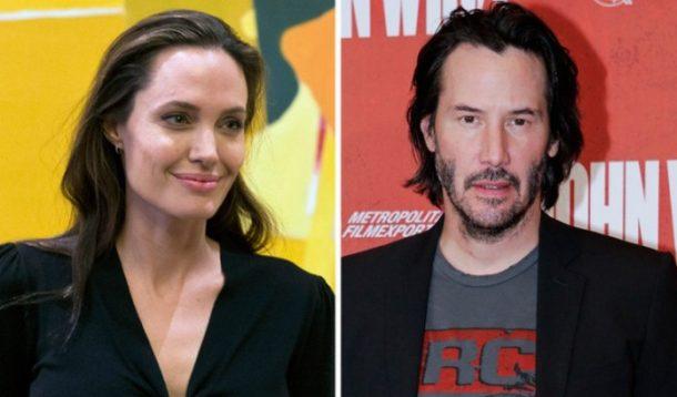 Angelina Jolie & Keanu Reeves