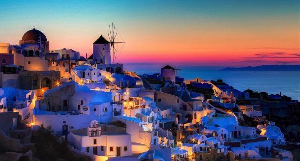 Avrupa'nın en iyi adası: Santorini