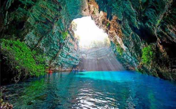 Melissani Cave Kafalonia