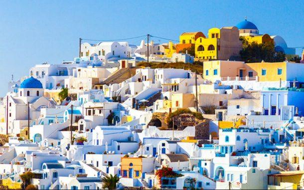 Oia Kasabası Santorini