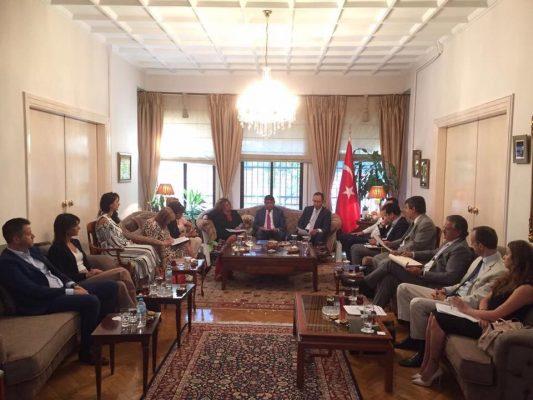 Selanik Türkiye Kuzey Yunanistan Turizm Toplantısı