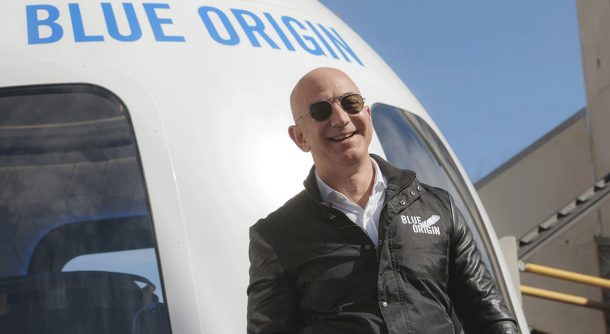 Blue Origin Jeff Bezos