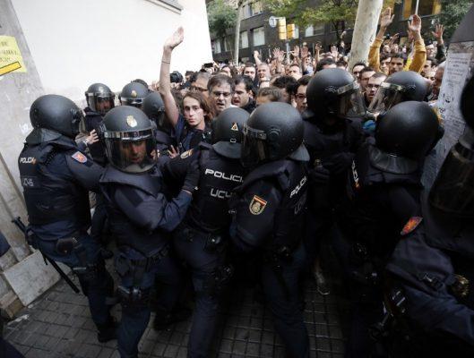 İspanya Katalonya Bağımsızlık Referandumu