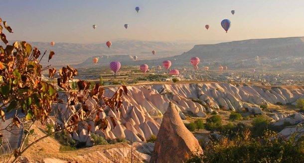 Turist akınına uğrayan Kapadokya altın yılını yaşıyor!