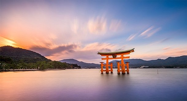 japonya tatil Itsukushima-Tapınağı