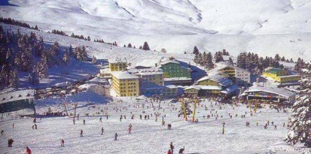 Uludağ'da kayak sezonu açılmadan Rus turistler yüz güldürdü!