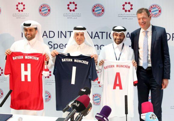 Bayern Münih yeni sponsoru Katar Havayolları