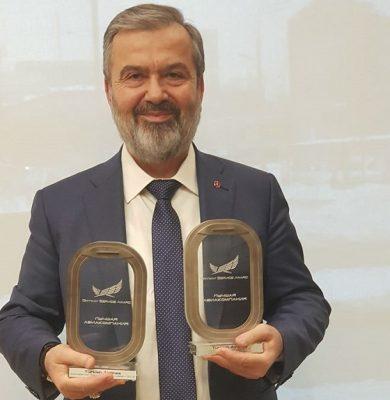 Türk Hava Yolları'na Rusya'dan üç ödül!