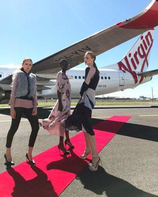 Virgin Australia 10 bin metrede tanıtım