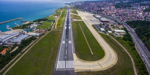 Bakanlik Trabzon Havalimani onarim basliyor