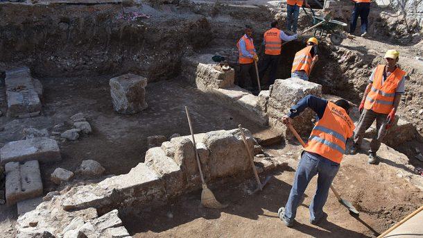 Bodrumdaki kazida Genc Romaya ait kalintılar bulundu