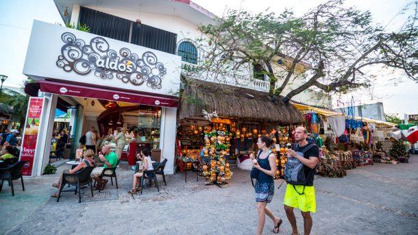 Cancun sokaklari