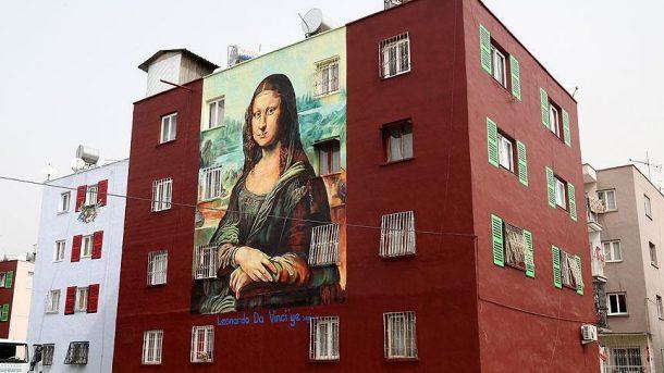 Da Vincinin Mona Lisa Mersinde hayat buldu