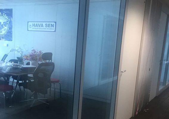Hava Senin ofisi TAV tarafıidan kapatıldi