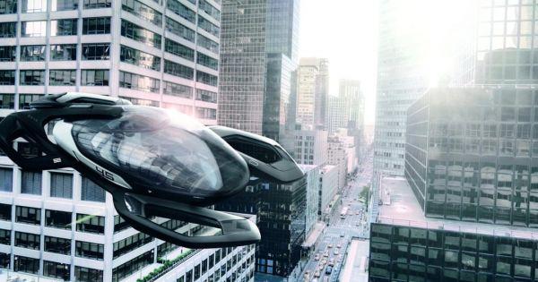 Porsche drone ile yolcu tasıyacak