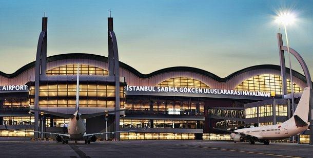 Sabiha Gökçen Havalimanı'nda yolcu sayısını yüzde 12 artış gösterdi