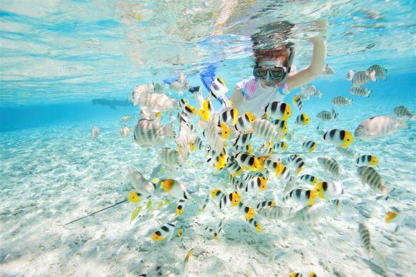 Türk adası Koh Rong deniz