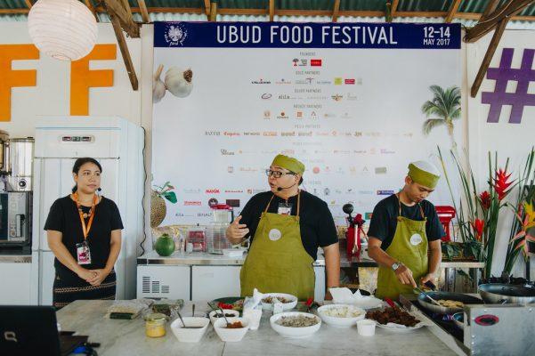 Ubud yemek festivali ascilar