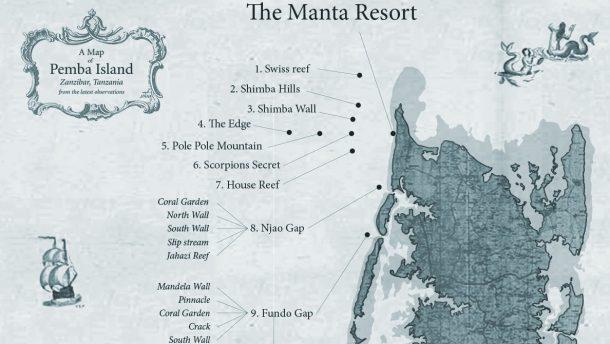 Pemba Adasındaki dalış noktaları