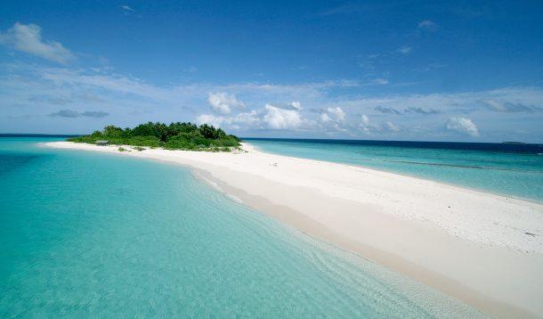 Maldivler ucsuz bucaksız plajları
