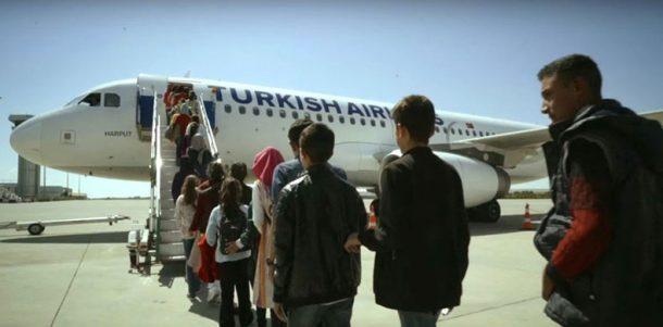 THY'nin 23 Nisan projesiyle cocuklar ilk kez uçaga bindi