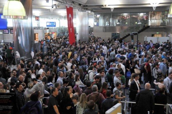 Türkiye'ye havayolu ile gelen turist sayısı 20.7 milyona ulaştı