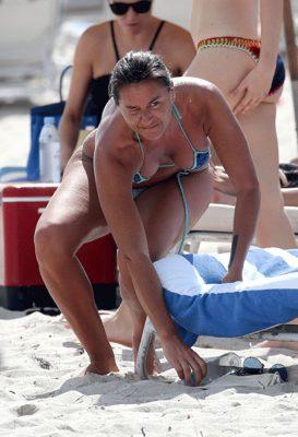 Eda Taşpınar Miami'de kiloları ile dikkat çekmişti