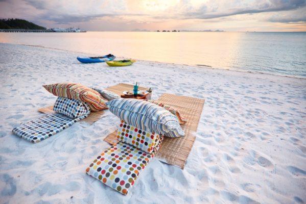 Tayland Koh Samui adası Chaweng  plajı