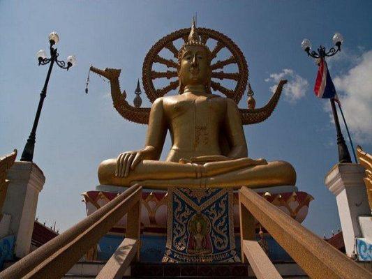Tayland Koh Samui Büyük Buda Tapınağı